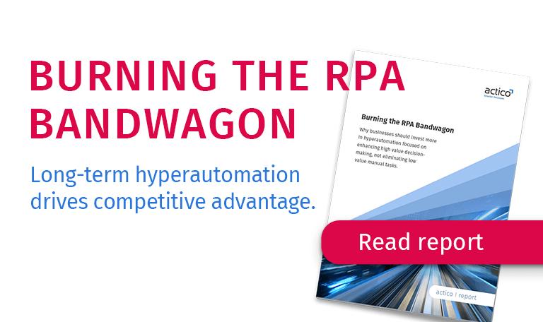 RPA Report – Burning the RPA Bandwagon