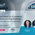 Forrester Live Webinar: 10 Must Haves for AI-powered Digital Decisioning Platforms
