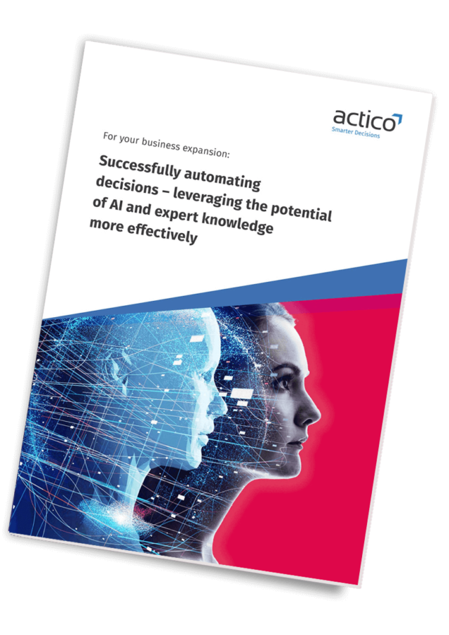 Whitepaper Successfully automating decisions – leveraging the potential of AI and expert knowledge more effectively